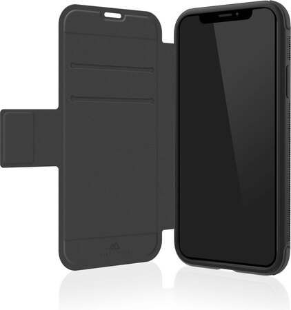 Black Rock Bookcover Robust voor iPhone Xr - Zwart
