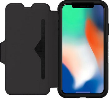 Otterbox Bookcover voor iPhone X of Xs - Zwart