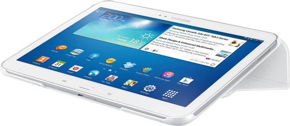 Samsung Bookcover voor Galaxy Tab 3 - Wit