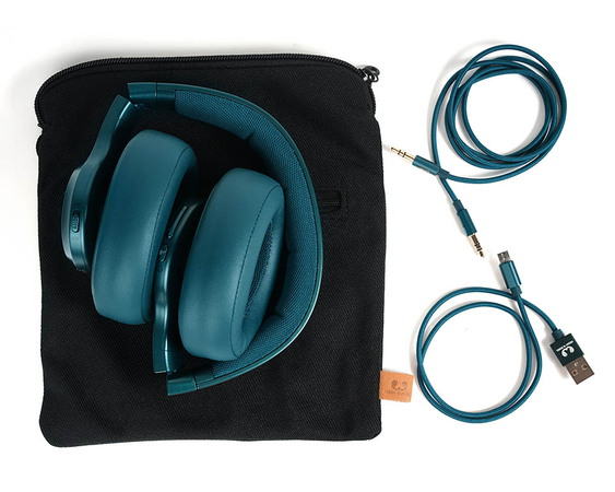 Fresh 'n Rebel CLAM ANC Casque Sans Fil - Petrol Blue