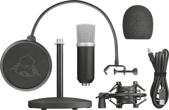 Trust Microphone streaming Emita GXT 252