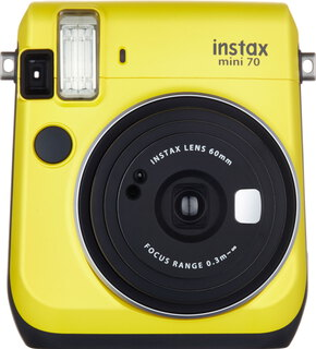 Fuji instax mini 70 Canary Yellow