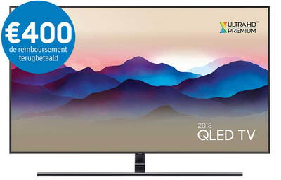 "Samsung TV QE55Q9FN (2018) - 55"" QLED Smart Ambient Mode 4K UHD TV"