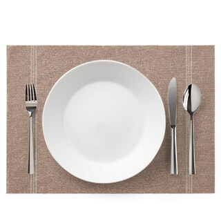 DAY DRAP Placemat *2 - Lichtbruin