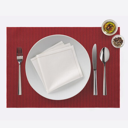 DAY DRAP Placemat *2 - Line Rood