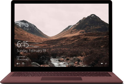 Microsoft Surface Laptop Bordeaux Core i5 256 Go - DAG-00065