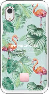 Happy Plugs Coque pour iPhone Xr - Pink Flamingos