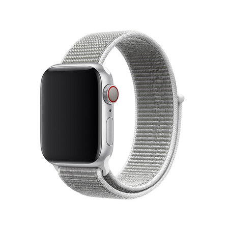 Apple Watch 40 mm Schelpenwit geweven sportbandje