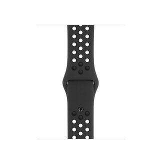 Apple Bracelet Sport Nike Anthracite/Noir pour Apple Watch 44 mm (S/M/L)