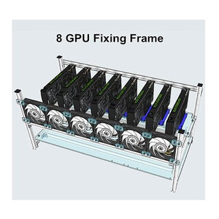 Tones 8GPU MINING STACKABLE COMPUTER FRAME