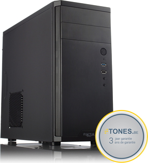 Tones Desktop Coffee i3-Intel Zwart