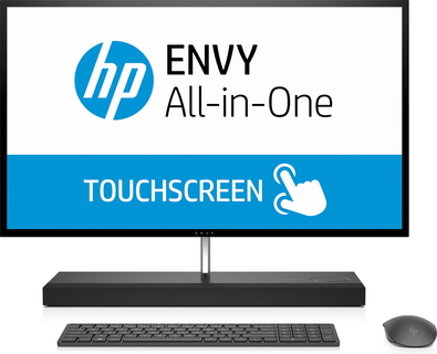 HP ENVY all-in-one PC 27-B220NB zilvergrijs