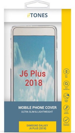 Tones Backcover voor Galaxy J6+