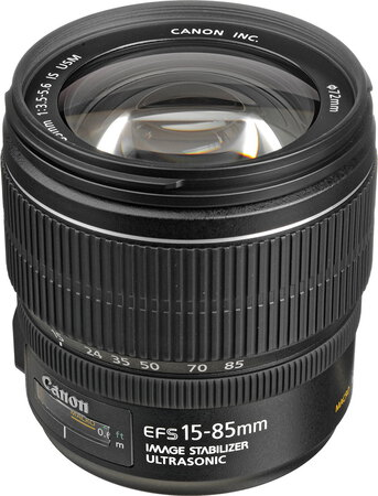Canon Objectif zoom EF-S 15-85 mm f/3.5-5.6 IS USM