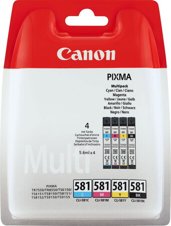 Canon Multipack CLI-581 CMYK