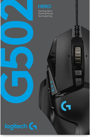 Logitech Souris gaming haute performance G502 Hero
