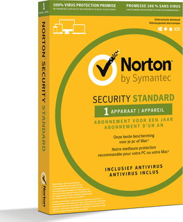 Norton Security Standard - 1 jaar - 1 toestel