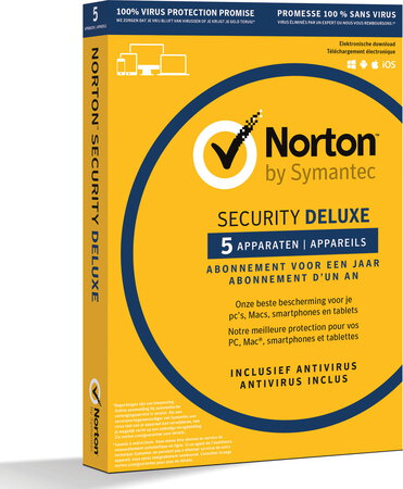 Norton Symantec Norton Security Deluxe 3.0
