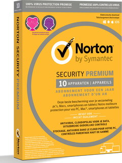 Norton Symantec Norton Security Premium 3.0