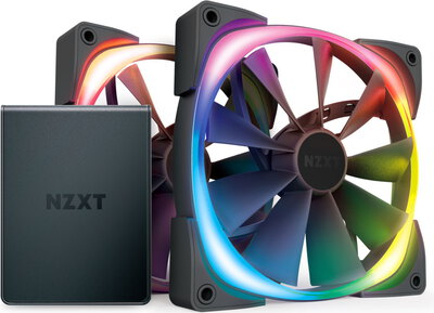 Nzxt Aer RGB 2 Starters Pack - HF-2814C-D1