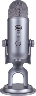 BLUE MICROPHONE Microphone USB Yeti - Gris