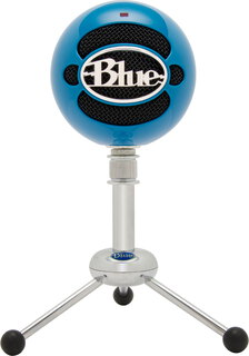 BLUE MICROPHONE USB-microfoon Snowball - Blauw