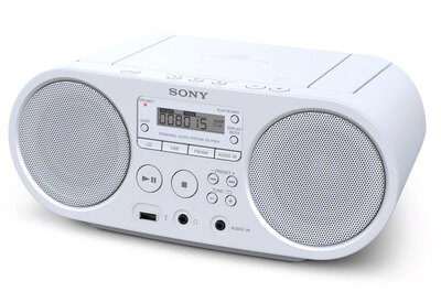 Sony ZS-PS50 Radio - Wit