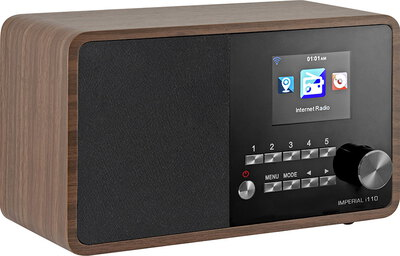 Imperial i110 digitale internetradio - wood