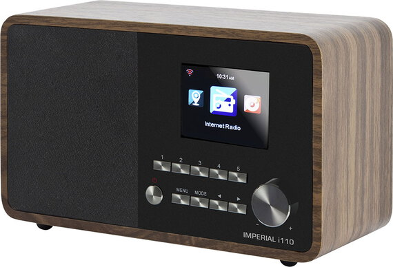 Imperial i110 Internetradio - Hout