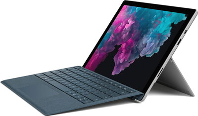 Microsoft Surface Pro 6 Platinum - Core i7 - 512 GB SSD - 16 GB RAM