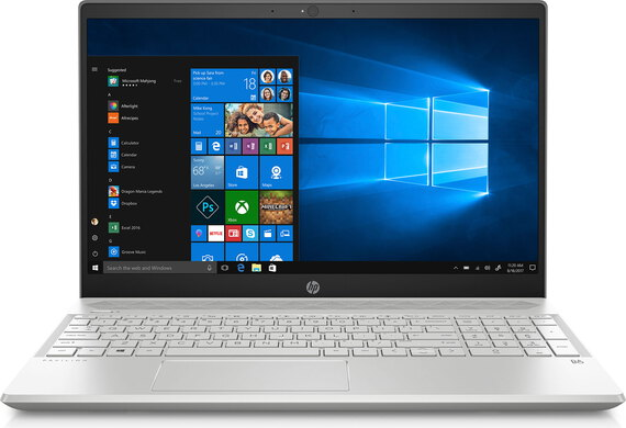 HP Pavilion Notebook 15-CS1050NB Mineral silver
