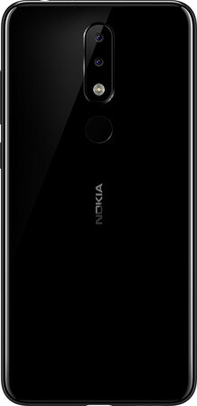 Nokia Nokia 5.1 Plus Gloss Black