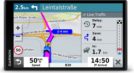 Garmin DriveSmart™ 65 & Digital Traffic - Europe