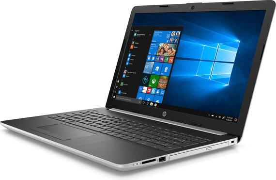 HP Laptop 17-BY1028NB Natural silver