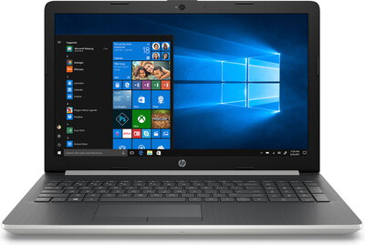 HP Laptop 17-BY1028NB Argent naturel
