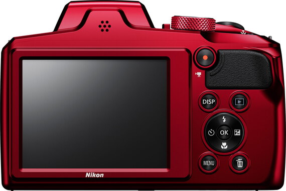 Nikon Coolpix B600 Rouge - 60x zoom optique