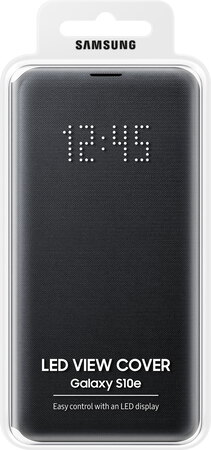 Samsung LED view cover voor Galaxy S10e - Zwart