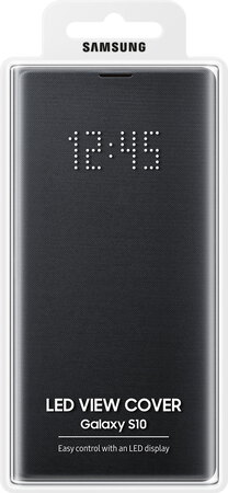 Samsung LED view cover voor Galaxy S10 - Zwart