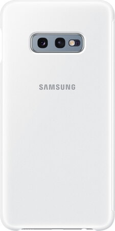 Samsung Clear View cover voor Galaxy S10e - Wit