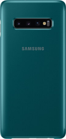 Samsung Clear View cover pour Galaxy S10+ - Vert