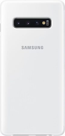 Samsung Clear View cover voor Galaxy S10+ - Wit
