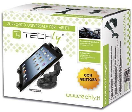 "Techly Support ventouse pour tablettes 7"" à 10,1"""