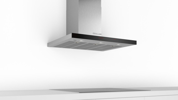 Bosch Hotte décorative DWB98PR50 Home Connect