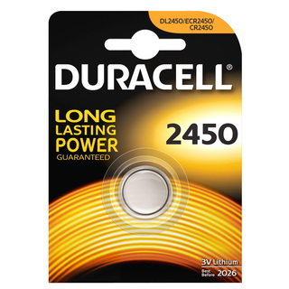Duracell Knoopcelbatterij CR2450 Lithium