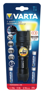 Varta Zaklamp 1W LED Indestructible F10