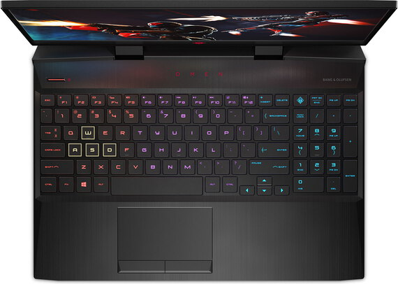 HP OMEN 15-DC0011NB Shadow Black