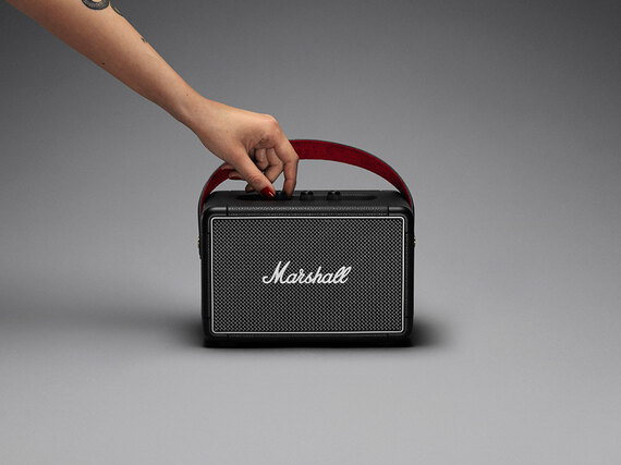 Marshall Kilburn II Bluetooth Speaker - Zwart