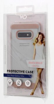 White Diamonds Backcover Innoncence Clear voor Galaxy S10e - Roségoud