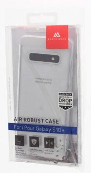 Black Rock Backcover Air Robust voor Galaxy S10+ - Transparant