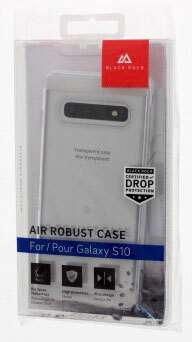 Black Rock Backcover Air Robust voor Galaxy S10 - Transparant